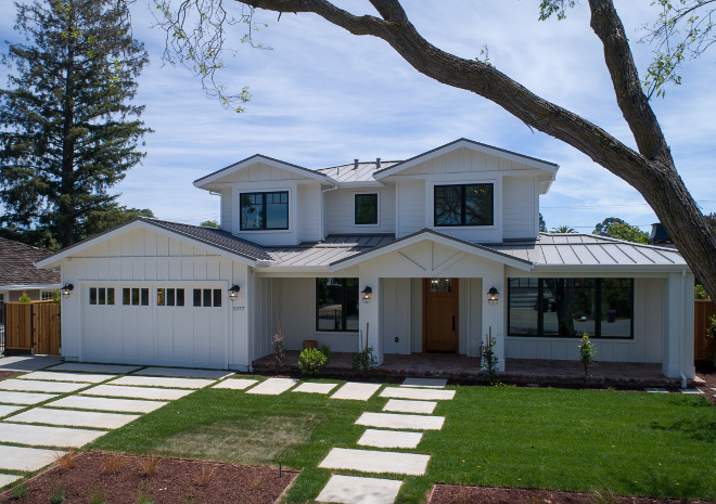 Modern farmhouse design style for New construction design ideas
